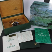 Rolex Submariner Date 18K Gold Full Set