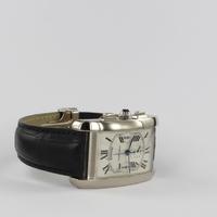 Cartier Tank Americaine XL Chronograph 18K Weißgold 2894