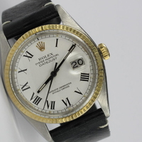 Rolex Datejust 36mm Buckley Dial Stahl / Gold 16013