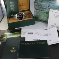 Rolex Submariner Date 16610 Service 10/2020