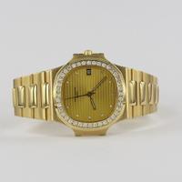 Patek Philippe Nautilus Original Diamantbesatz 3800/3