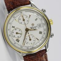 Wyler Genève Valjoux 7750 Chronograph