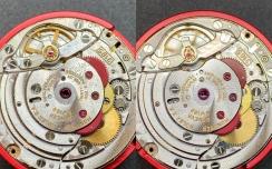 Rolex Werkservice (Vorher/Nachher)