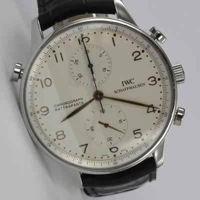 IWC Portugieser Chronograph Rattapante 3712