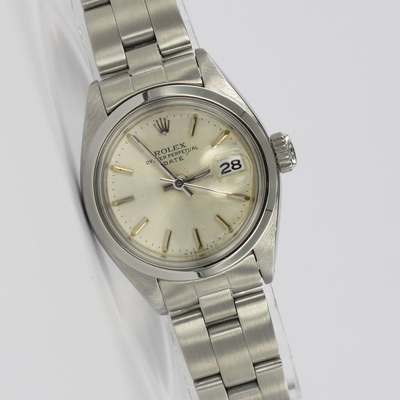 Rolex Lady Oyster Perpetual Date Stahl 6916