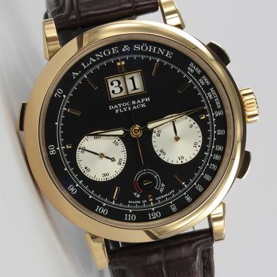 A. Lange & Söhne Datograph Flyback Auf/Ab Roségold 405.031