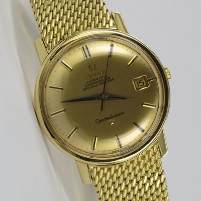 Omega Constellation 18K Gold 168.010