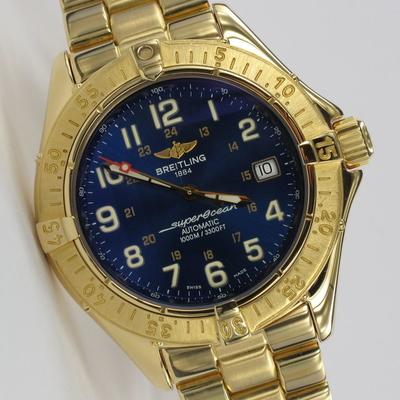 Breitling Superocean 18K Gold Limited Edition K10040