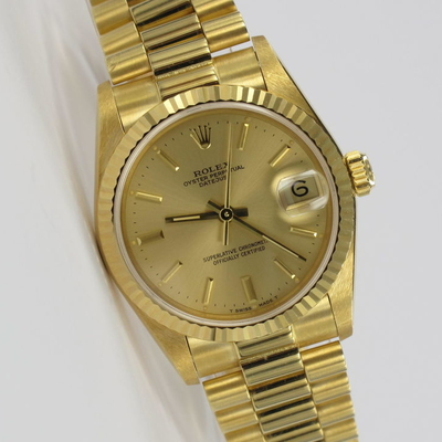 Rolex Datejust 31 Medium Unpoliert Full Set