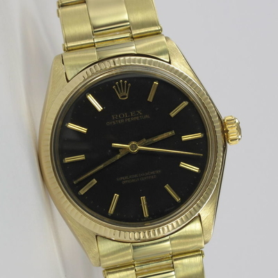 Rolex Oyster Perpetual 34mm 18K Gold 1005