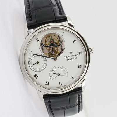 Blancpain Villeret Masterpiece Collection 8 Days Tourbillon Platin Limited Service 10/2020