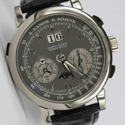 A. Lange & Söhne Datograph Perpetual Weißgold 410.030