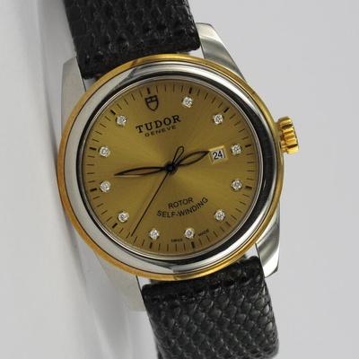 Tudor Glamour Date 31 Diamant-Zifferblatt 53003