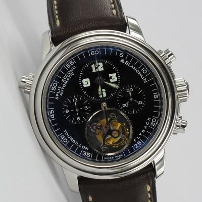 Blancpain Leman Tourbillon Chronograph Platin Limited Edition 2189F-3430-63B