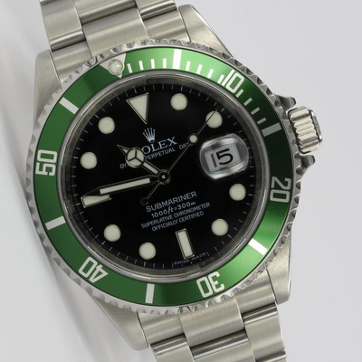 Rolex Submariner Date 50th Anniversary 16610LV Full Set