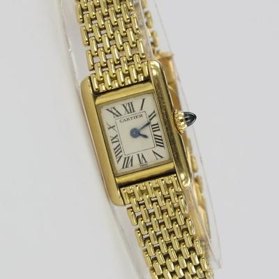 Cartier Tank Lady 18K Gold