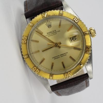 Rolex Datejust Turn-O-Graph Stahl / Gold 1625