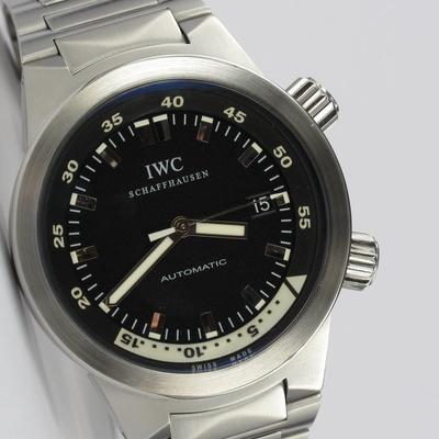 IWC Aquatimer Stahl Full Set