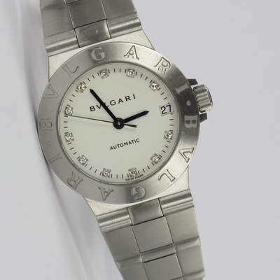 Bulgari Diagono 29mm Diamant-Zifferblatt Automatik