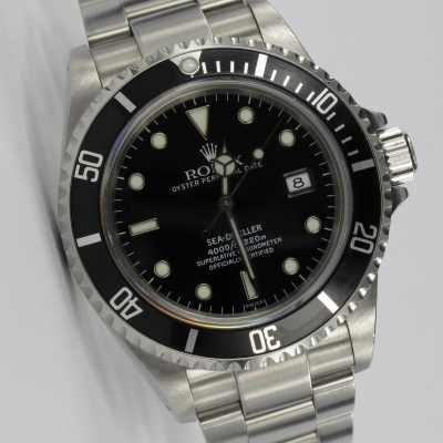 Rolex Sea-Dweller Swiss Only Unpoliert Full Set