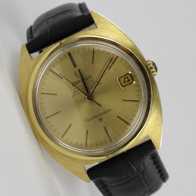 Omega Constellation 18K Gold Automatik
