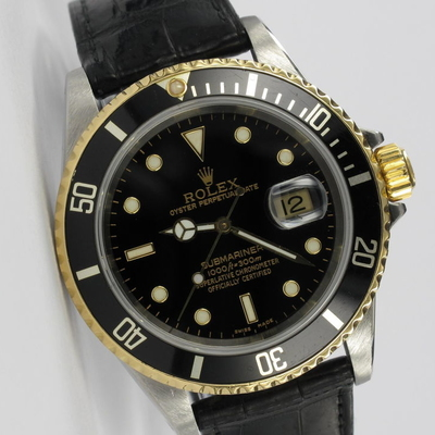 Rolex Submariner Date Stahl / Gold 16613