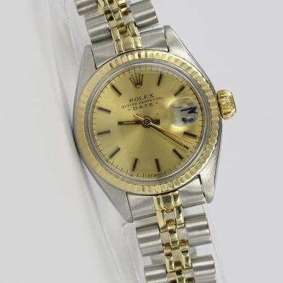 Rolex Lady Oyster Perpetual Date Stahl / Gold 6917