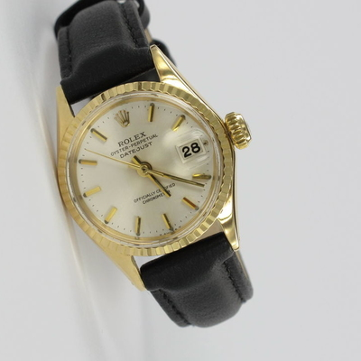 Rolex Lady Datejust 18K Gold 6517
