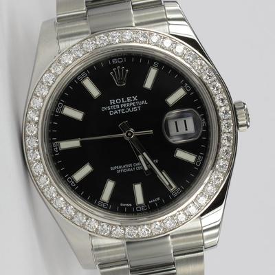 Rolex Datejust II Diamant-Lünette 116300