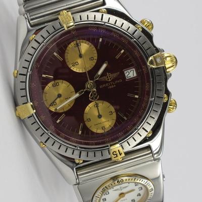 Breitling Chronomat UTC Stahl / Gold B13047