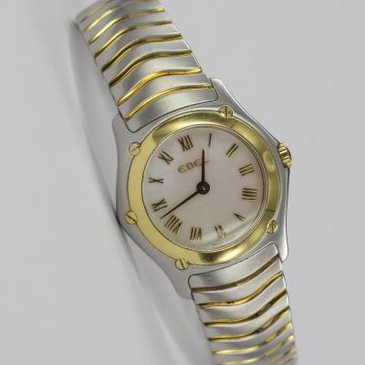 Ebel Classic Wave Stahl / Gold Perlmutt