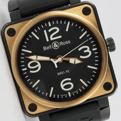 Bell & Ross BR01-92 18K Roségold / Stahl