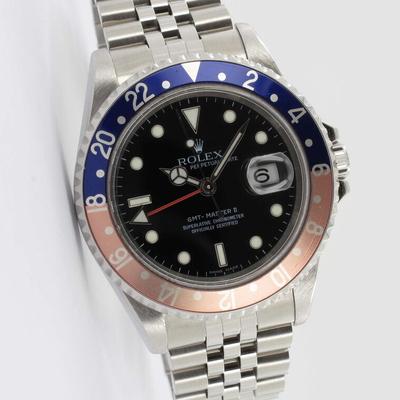 Rolex GMT-Master II Jubilee Rectangular Dial 16710