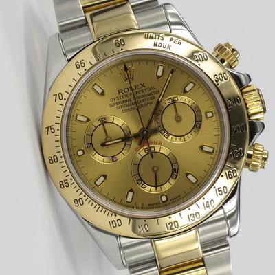Rolex Daytona Stahl / Gold 116523