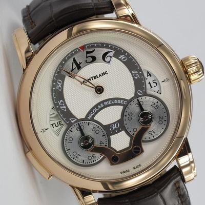 Montblanc Nicolas Rieussec Chronograph 18K Roségold 108789