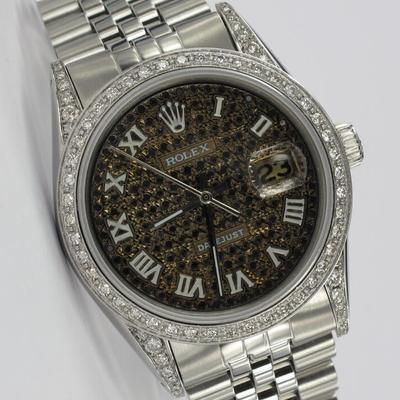 Rolex Datejust 36mm Diamant-Besatz 1601