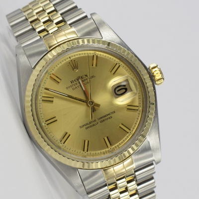 Rolex Datejust Stahl / Gold 1603