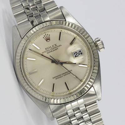 Rolex Datejust 36mm Weißgold-Lünette 1601