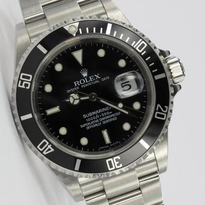 Rolex Submariner Date Unpolished Z-Serie 16610