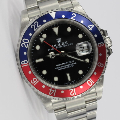 Rolex GMT-Master II Pepsi Unpolished 16710