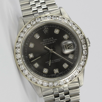 Rolex Datejust 36mm Original Diamant-Zifferblatt 16014