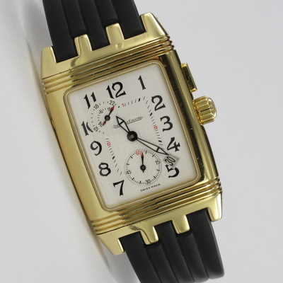Jaeger-LeCoultre Reverso Gran Sport Duo Face Night Day Jaeger Service 09/2016