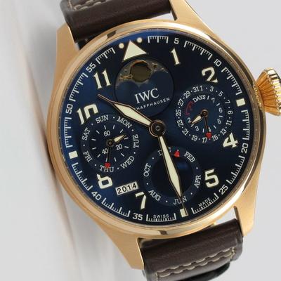 IWC Big Pilot Le Petit Prince Perpetual Calendar Roségold IW502802