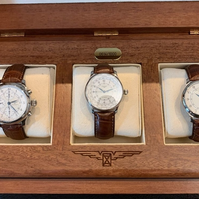 Longines 3-Set 130 Years 165 Limited Edition