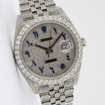 Rolex Datejust 41 Iced Out 126334
