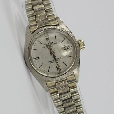 Rolex Lady Datejust 18K Weißgold 6927