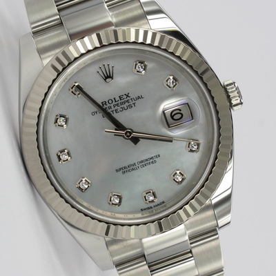 Rolex Datejust 41 MOP Mother Of Pearl 126334