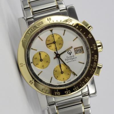 Girard Perregaux GP 7000 Chronograph Stahl / Gold