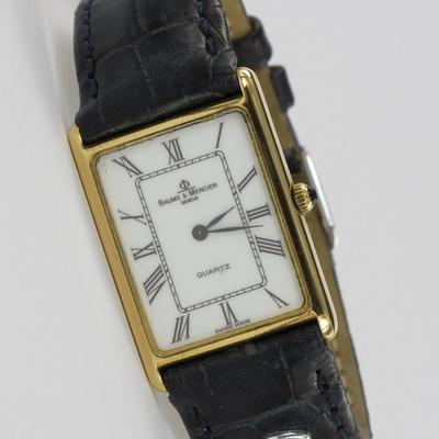 Baume & Mercier 18K Gold Quartz