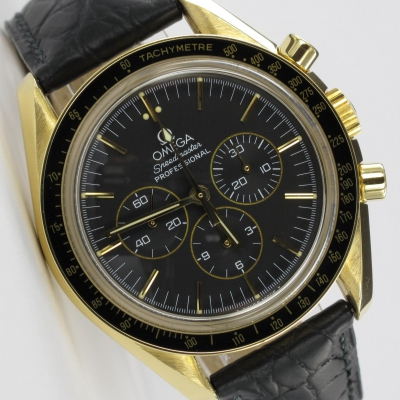 Omega Speedmaster Professional Moonwatch 18K Gold Limited